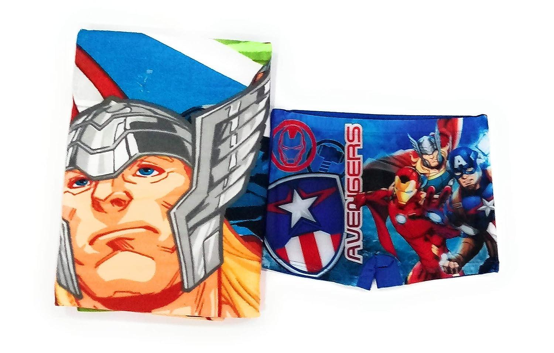 Toalla Los Vengadores Microfibra New Import Ba/ñador Avengers Boxer Los Vengadores