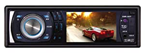 Absolute DMR-380T 3.5-Inch In-Dash Single Din Receiver
