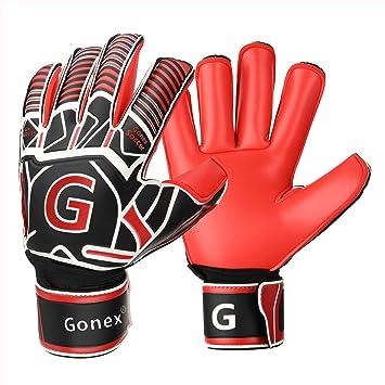 Amazon.com: Gonex GK - Guantes de portero de fútbol con ...