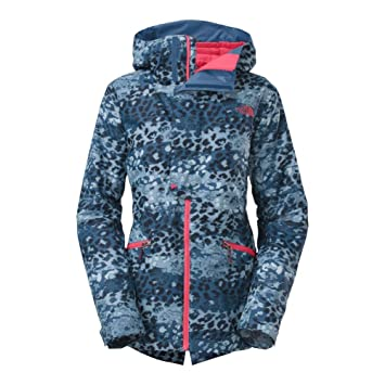 198d1f7027 The North Face Vagabond Insulated Jacket Womens Dish Blue Leopard Print L   Amazon.ca  Sports   Outdoors