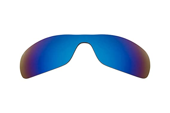 3047ca2d82 Best SEEK Polarized Replacement Lenses for Oakley Sunglasses ANTIX Blue  Mirror  Amazon.co.uk  Clothing