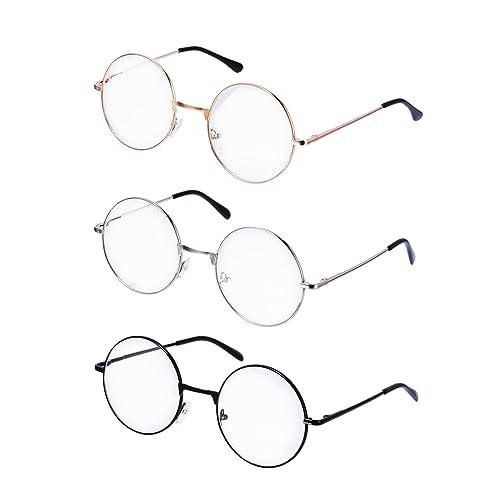 Round Frame Glasses: Amazon.co.uk