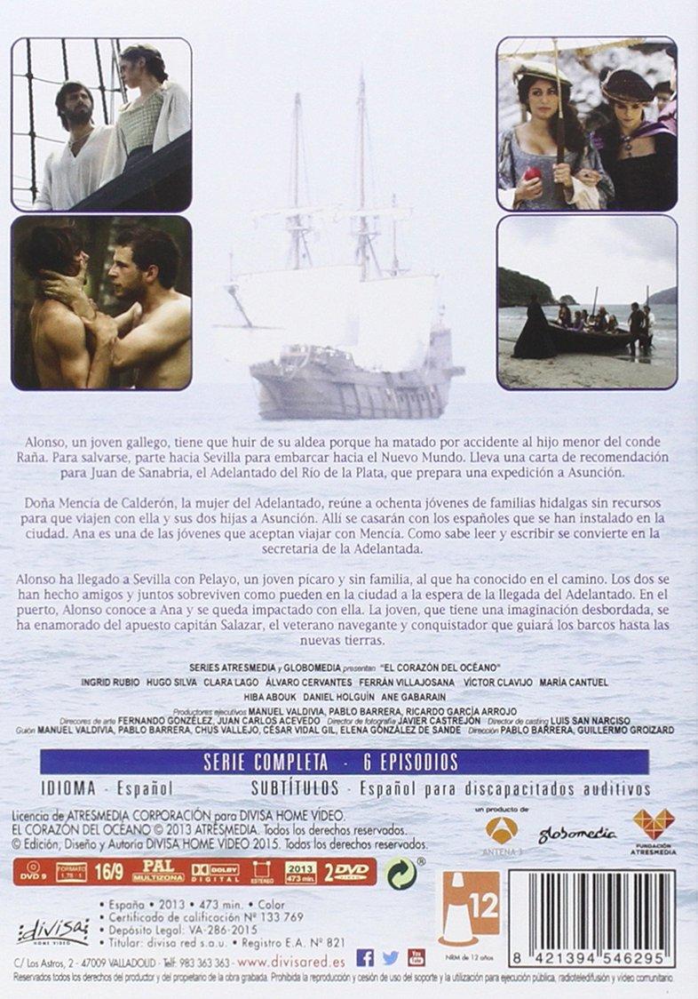 El Corazón Del Océano Serie Completa 25 Aniversario A3 DVD ...