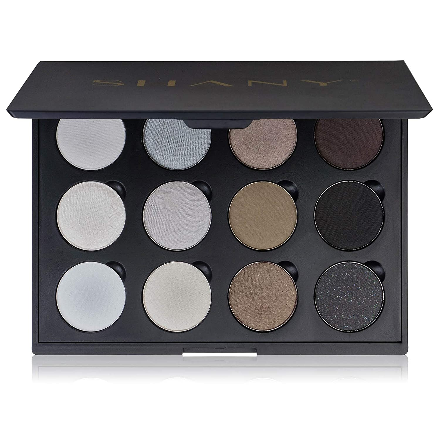 SHANY 12 Color Palette, Smokey Eyes, 6 Ounce