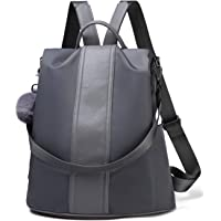 3eabc928abfd Women Backpack Purse Waterproof Nylon Anti-theft Rucksack Lightweight  School Shoulder Bag
