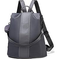 0bb2724ef099 Women Backpack Purse Waterproof Nylon Anti-theft Rucksack Lightweight School  Shoulder Bag