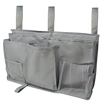 Amazon Com Bedside Storage Bag 8 Pockets Tongcloud Caddy Hanging