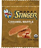 Honey Stinger Organic Waffle, Caramel Flavored, 1 Ounce (Pack of 16)