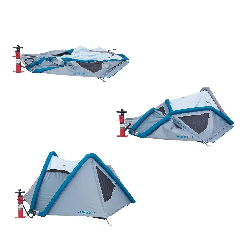 d321e57b5 QUECHUA tenda da campeggio Air Seconds XL Fresh   Black 8384158 per 2  persone in Bianco  Amazon.it  Sport e tempo libero