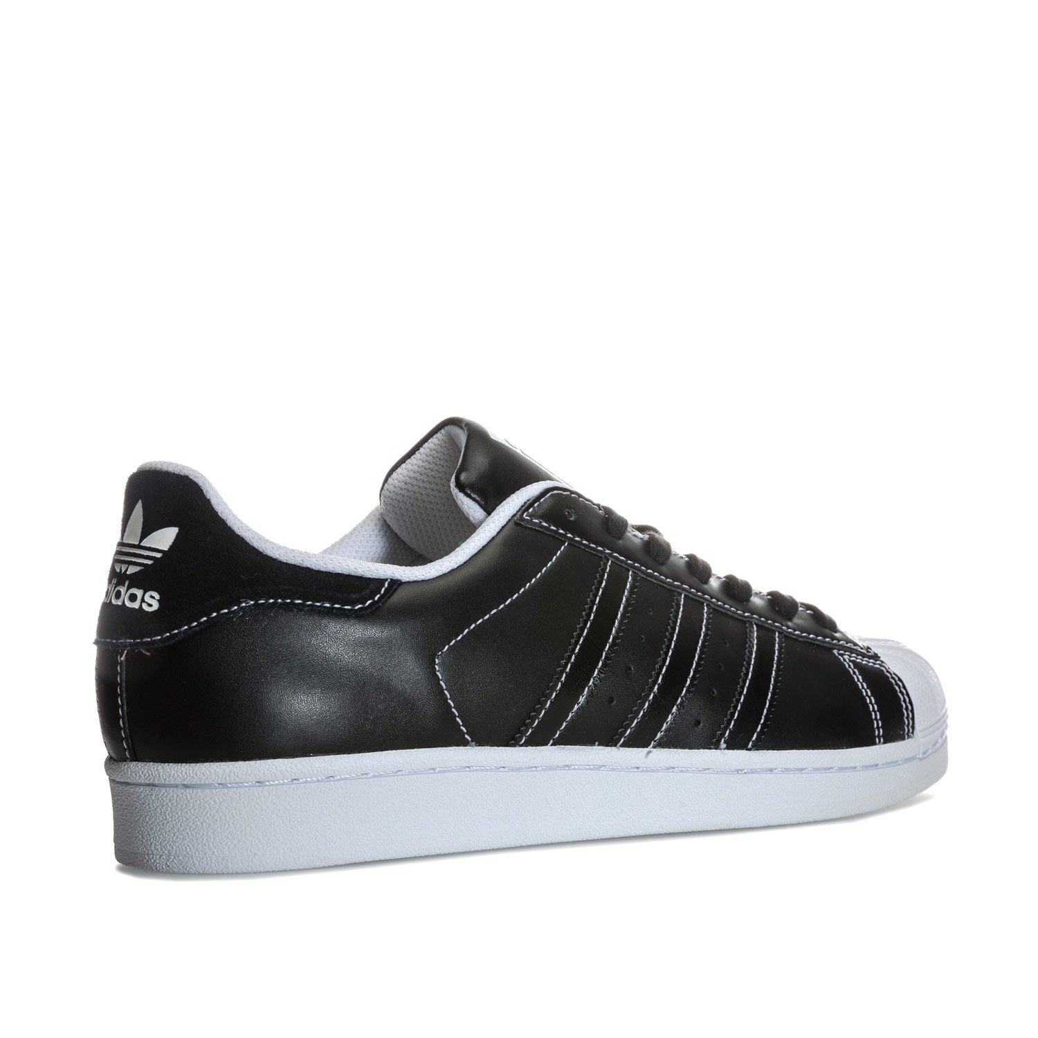 newest abfd4 c2667 adidas Mens Originals Mens Superstar Trainers in Black-White - UK 16  Amazon.co.uk Shoes  Bags
