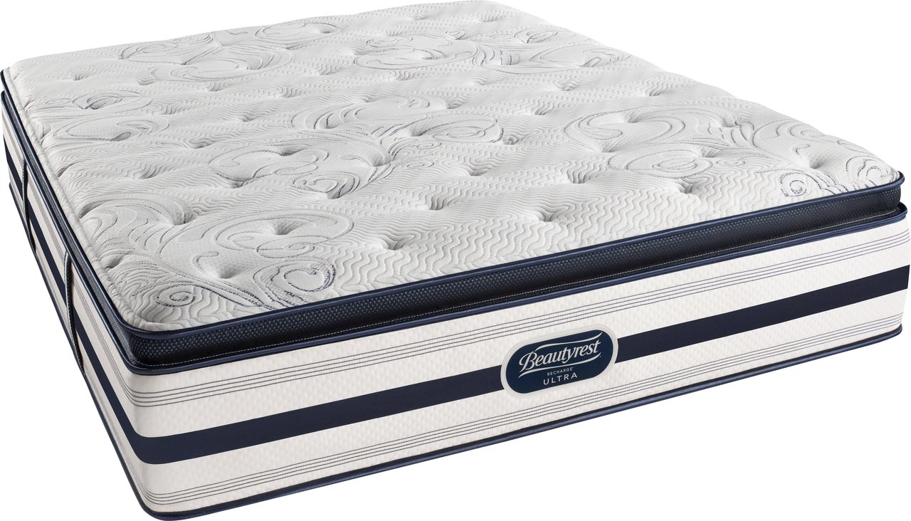 Simmons Beautyrest Luxury Pillow Top Mattress – Queen