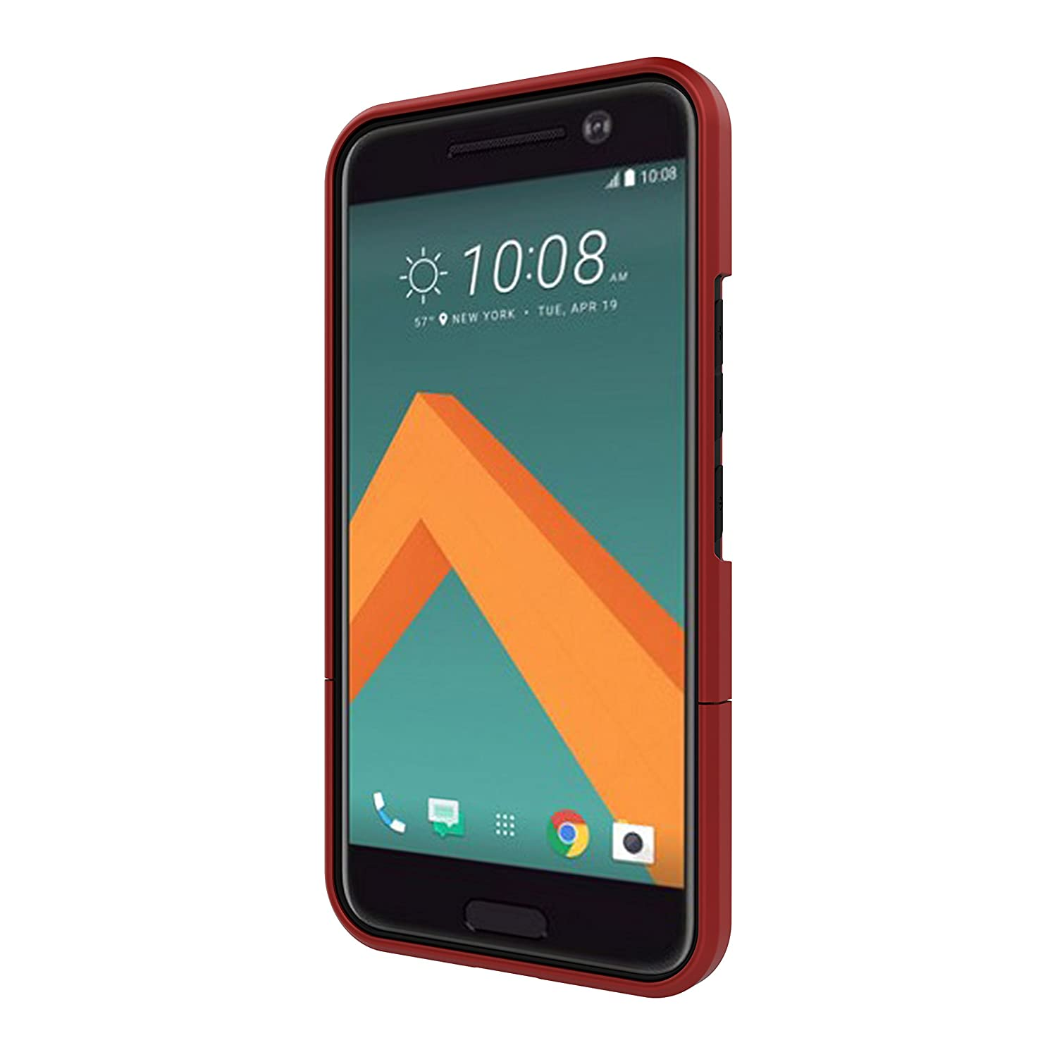 htc 10 case gold. amazon.com: seidio surface cell phone kickstand case for htc m10 - retail packaging dark red/black: phones \u0026 accessories htc 10 gold l