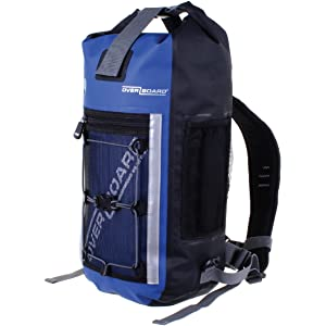 3c121449d1 Overboard Pro-Sports 100% Waterproof Backpack Bag with Adjustable Chest and  Sternum Straps