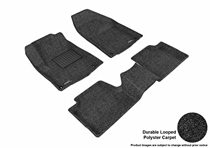 Models KL Intro-Tech JP-176R-RT-T Hexomat Second Row 2 pc Rubber-Like Compound Tan Custom Fit Auto Floor Mats for Select Jeep Cherokee
