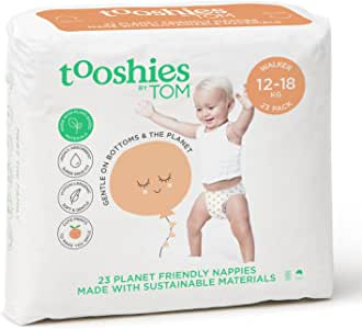 Tooshies by TOM eco Nappies - Walker Size 5 (23pk)