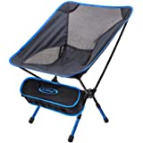 G4Free Lightweight Portable Chair Outdoor Folding Backpacking Camping Chairs For Sports Picnic Beach Hiking Fishing