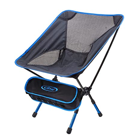 G4Free Lightweight Portable Chair Outdoor Folding Backpacking Camping Chairs  For Sports Picnic Beach Hiking Fishing (