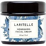 Laritelle Organic Facial Moisturizer, Rejuvenating, Nourishing, Vitamins and Antioxidants-Rich Day/Night Cream for Cellular Rejuvenation, Collagen Support & Diminishing Visible Signs of Aging, 0.5 oz