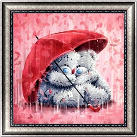 Colorful Bear DIY Full 5D Diamond Embroidery Painting Cross Stitch Home Decor