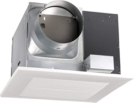Panasonic Fv 30vq3 Whisperceiling Ventilation Fan Quiet Air Flow Long Lasting Easy To Install Code Compliant Energy Star Certified White Bathroom Fans Amazon Com