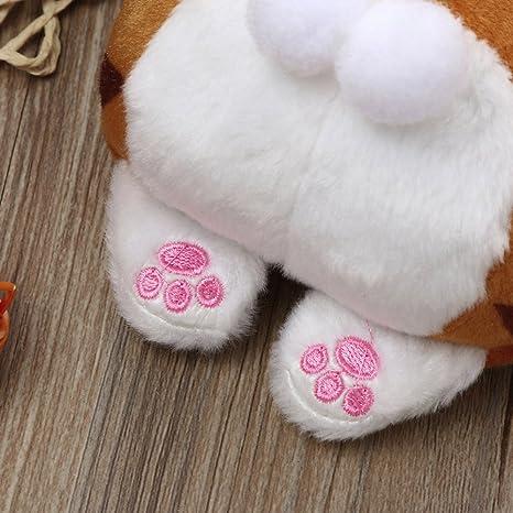 Amazon.com: Hot Cute Cat Butt Tail Plush Coin Purse Change ...