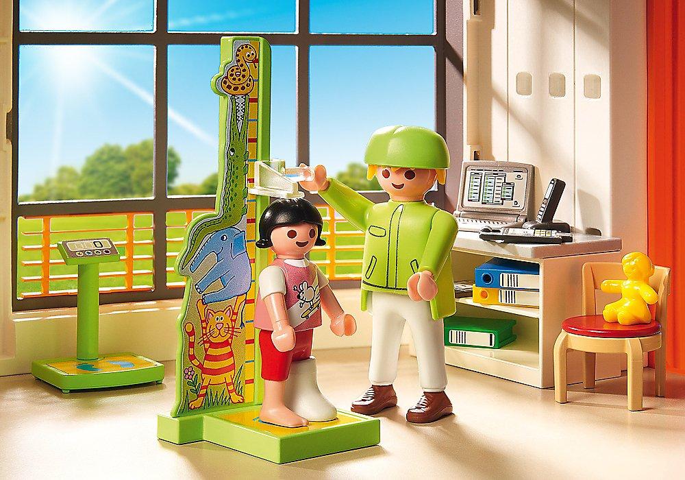 Miscelanea Color 6657 Playmobil- Furnished Childrens Hospital City Life Infantil