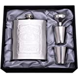 LifeVV Stainless Steel Flask Gift Set, 7-Ounce Men's gifts