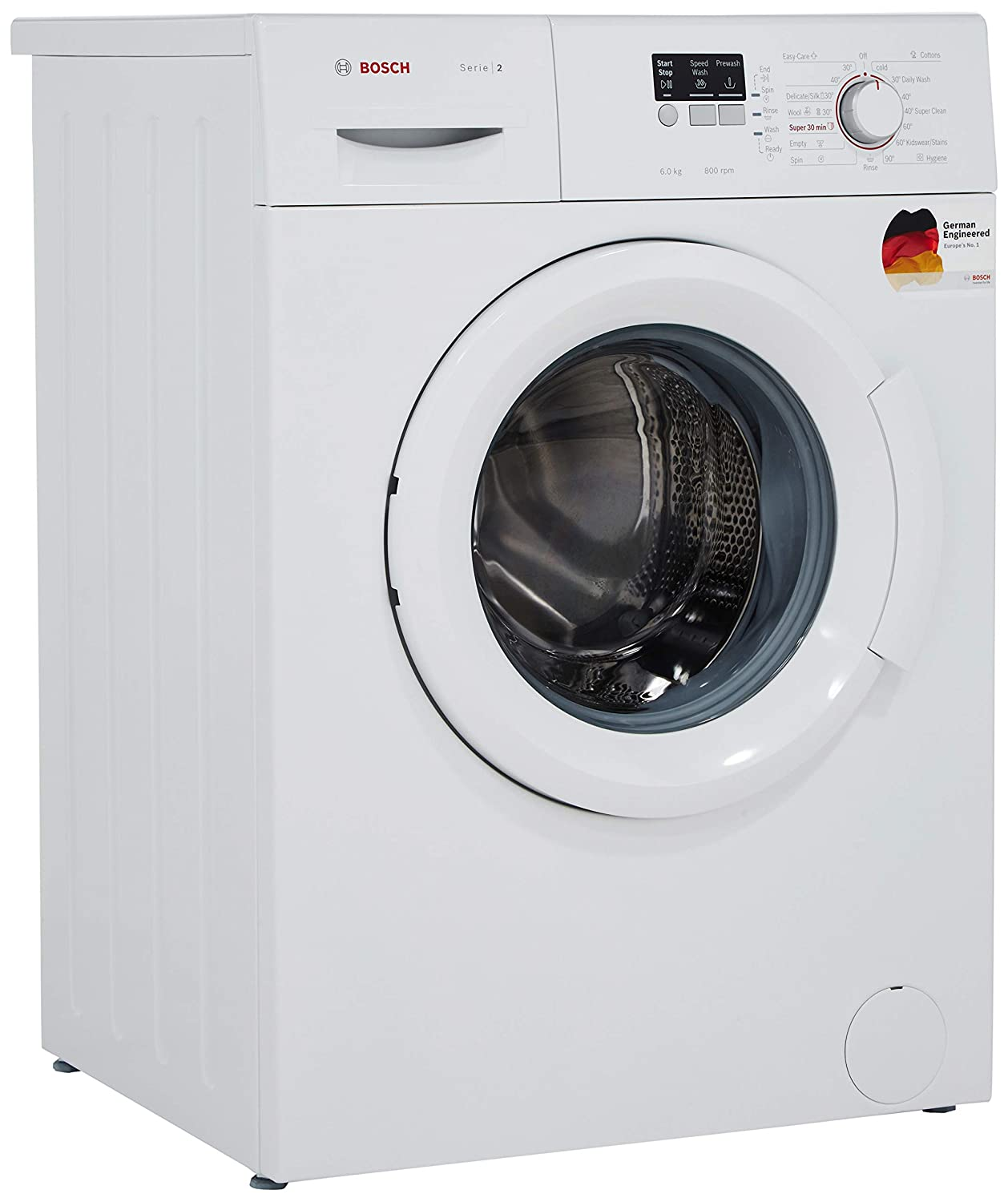 Bosch Classixx 5 washing machine: instructions for use, washing modes and reviews 3