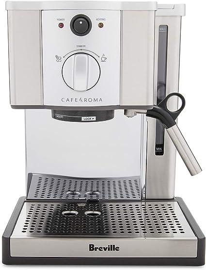 Breville Cafe Roma Stainless Espresso Maker ESP8XL