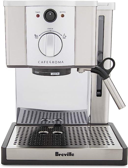 Amazon.com: Breville ESP8XL Cafetera de espresso de acero ...