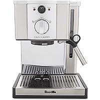 Breville Café Roma Espresso Machine ESP8XL - BREESP8XL, Brushed Stainless