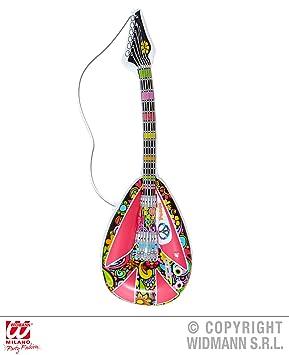 Hippie - Mandolina - , 105 cm, hinchable, 60 años 70 Groovy ...