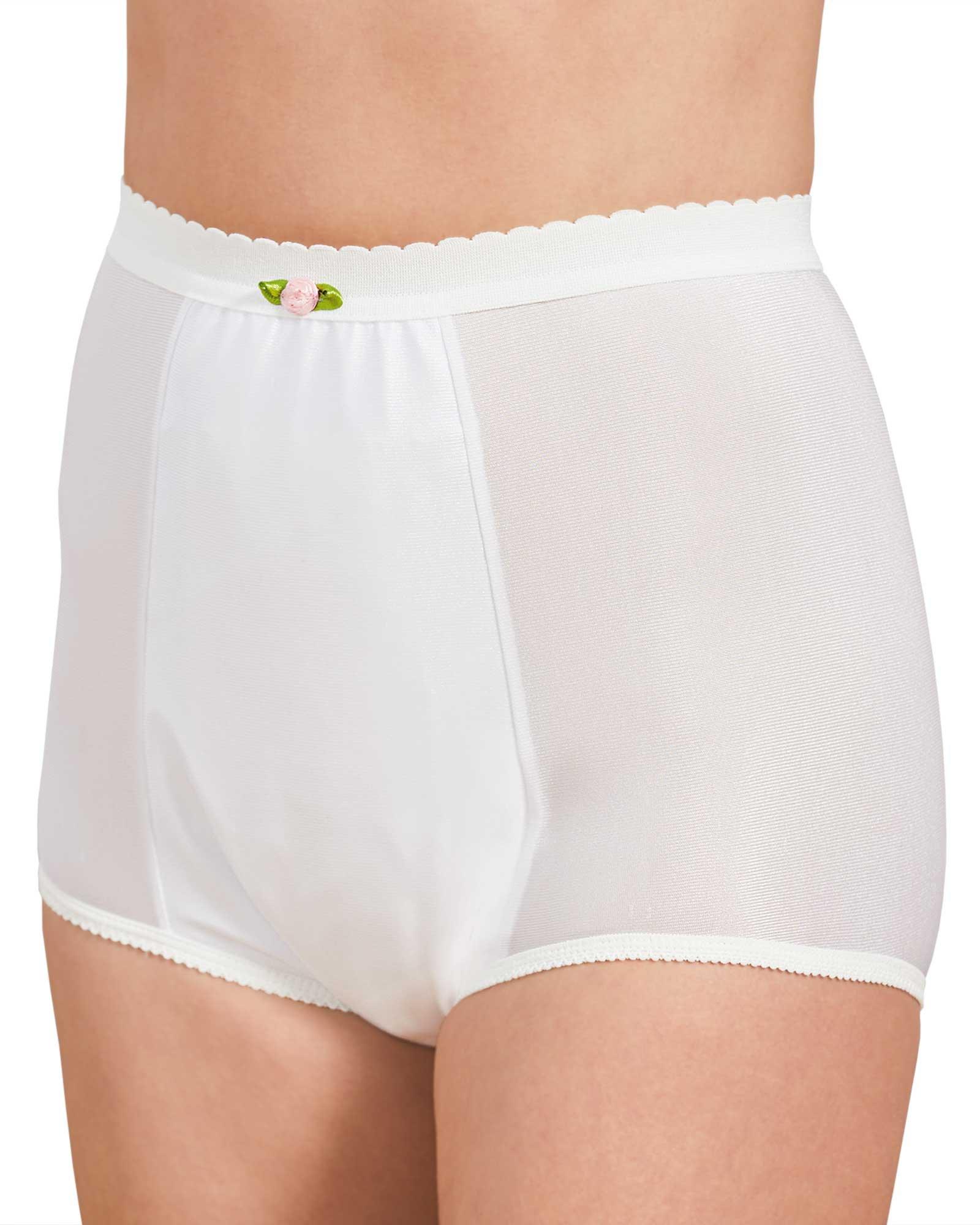 Health Dri Nylon Heavy Duty Incontinence Panty, White, 8 - Nylon by Health Dri (Image #1)