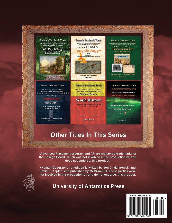 Workbooks ap human geography workbook : Malinowski & Kaplan's Human Geography+ 1st AP* Edition Student ...