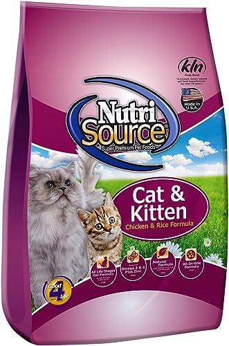Nutri Source Cat Kitten – Chicken Rice – 16 lbs