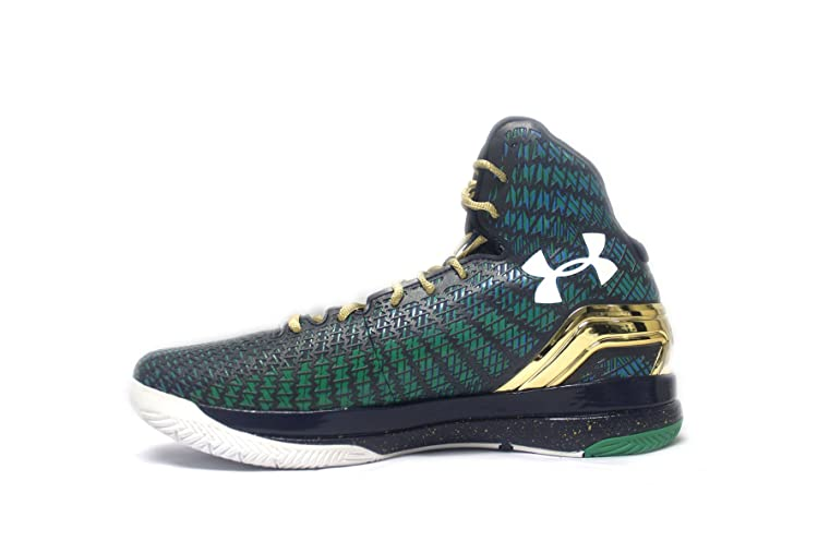 new products e9604 5cc8e ... czech amazon under armour tb clutchfit drive 3 low mens basketball shoe  12.5 kelly green midnight ...