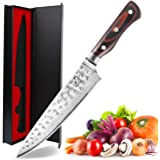 Imarku Pro Chefs Knife, High Carbon Stainless Steel Kitchen Knife with Sharp Edge and Ergonomic Handle (B2-8 inch…