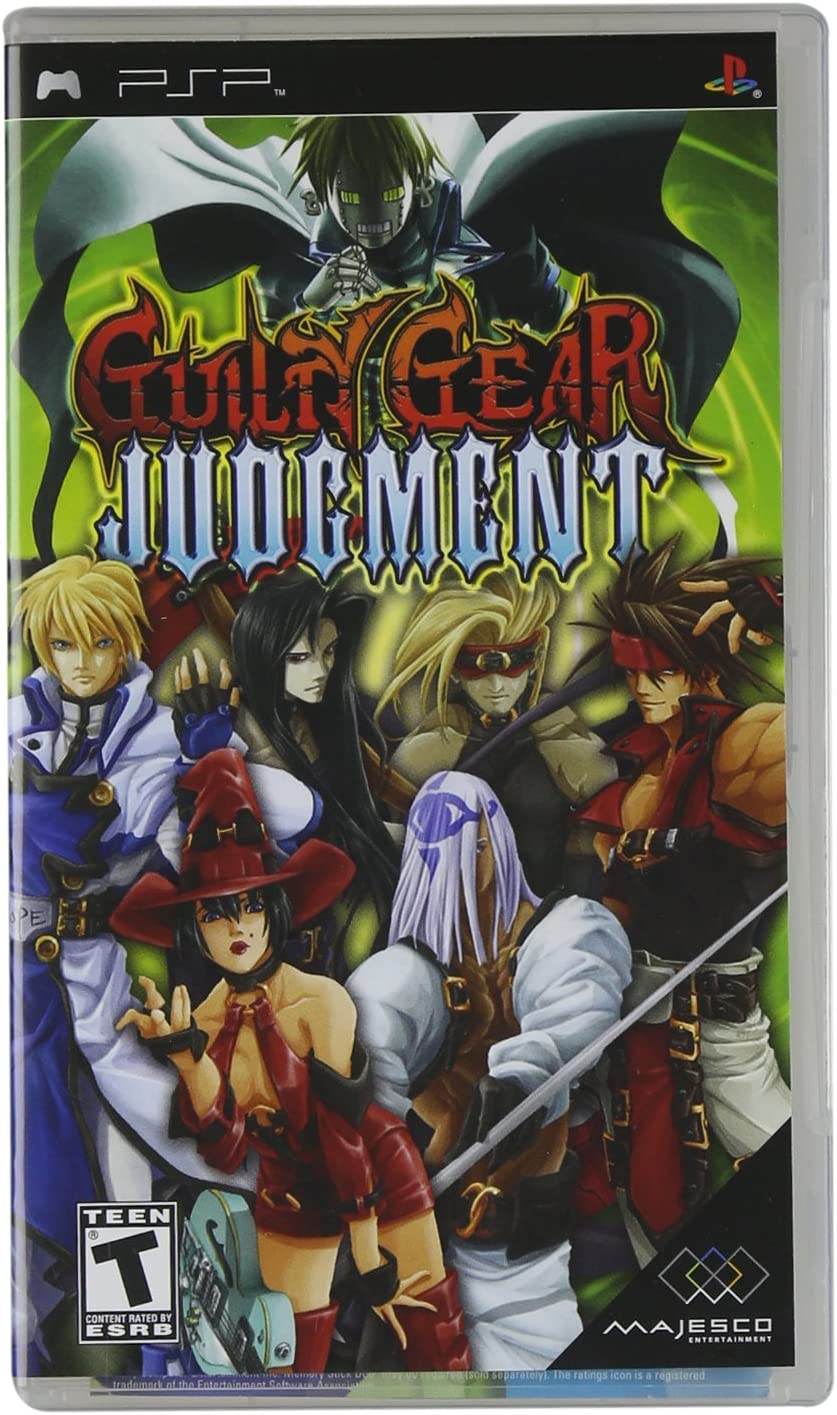 Amazon com: Guilty Gear Judgment - Sony PSP: Artist Not