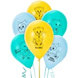 Daniel Tiger Latex Balloon Party Supplies, Pack of 6