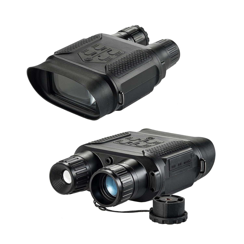 Pintyデジタル7 x倍率防水ハンティングIR赤外線ナイトビジョン双眼鏡、望遠鏡1300 ft/400 m範囲、2
