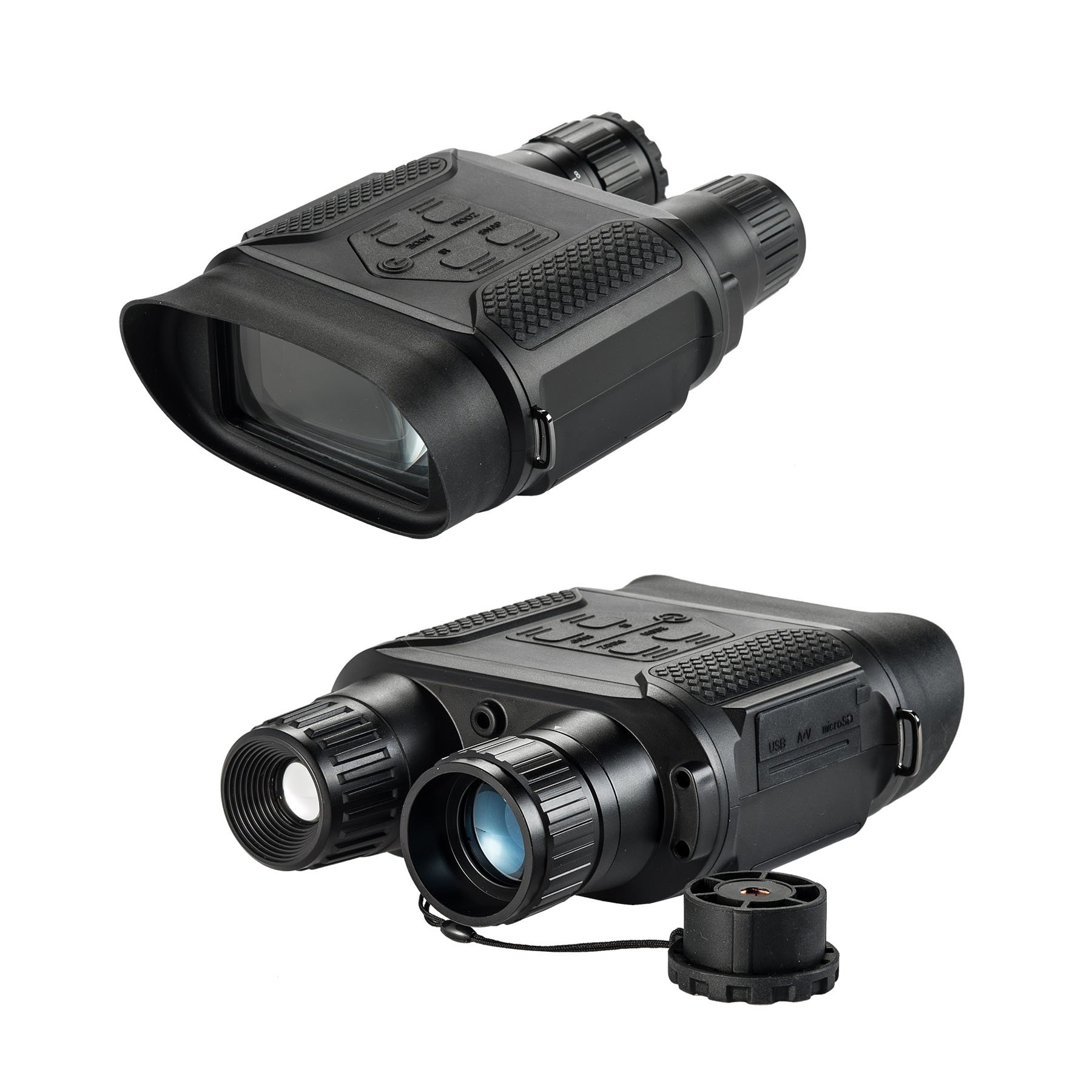 Pinty 7 x 31 Night Vision Binoculars Digital Infrared Night Vision Scope, 640 x 480@30FPS, Photo Camera & Camcorder w/400m/1300ft Viewing Distance, 7x Magnification in the Darkness, 4'' Large Viewing