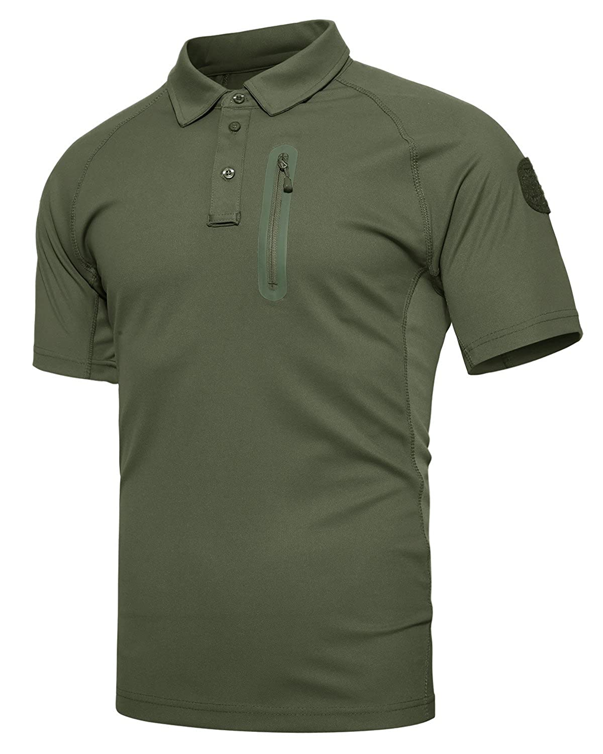 a608ce75f82 Style  Regular fit short sleeve military polo t shirt with raglan sleeve