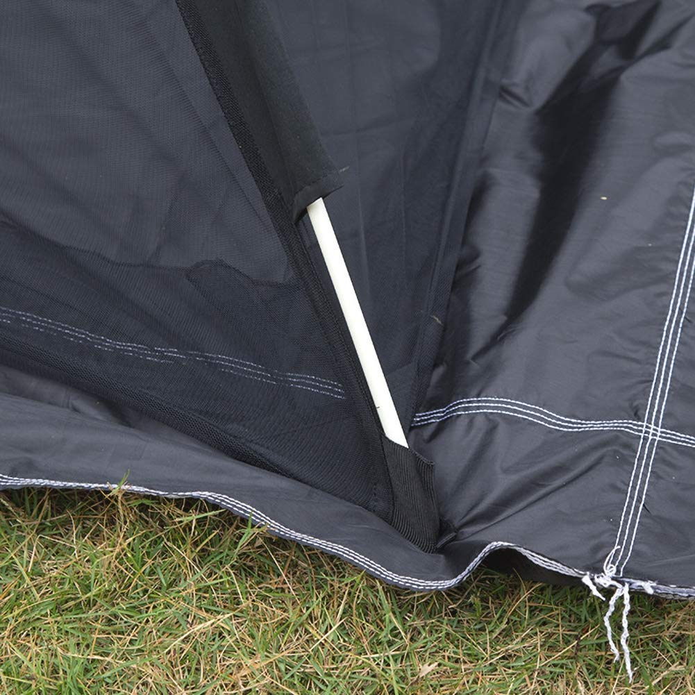 Large Double Bed Free-Standing Mosquito Net Tent for Outdoor, Beach, Hiking, Traveling, Backyard,Quick Easy Installation by dehong (Image #5)