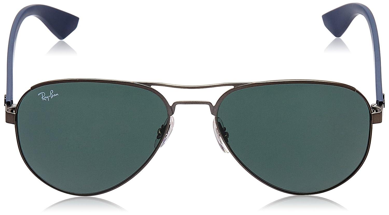 Ray-Ban 006/3R 3523 Gafas de sol, Wayfarer, 59, Negro ...