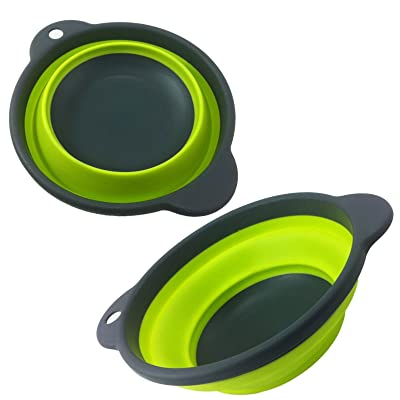19cm Pop Up Space Saver Bowl - Green - Summit