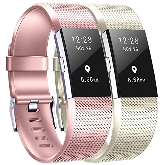 For Fitbit Charge 2 Replacement Smart Watch Bands Strap Bracelet Wrist Band S/l Fitness, Running & Yoga Fit Tech Parts & Accessories