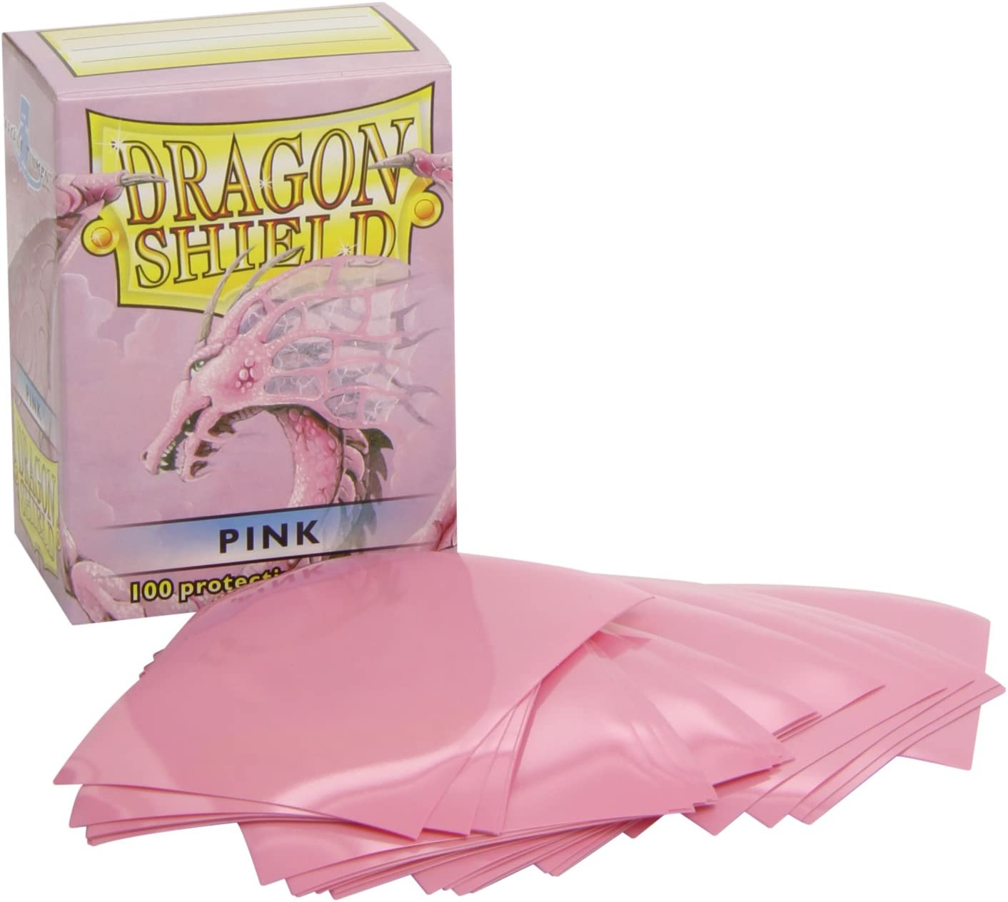 Dragon Shield PINK Matte 100 Card Sleeves x1
