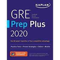 GRE Prep Plus 2020: 6 Practice Tests + Proven Strategies + Online + Video + Mobile