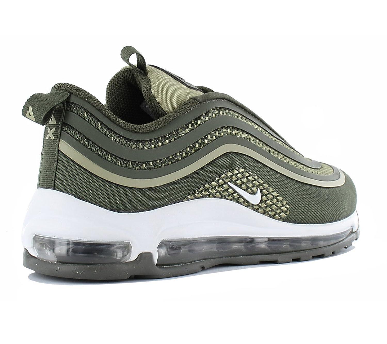 Nike air max 97 ul 17 (GS) 2807 917998 300 vert - chaussures de sport unisexe toile, (cargo kaki/blanc river rock) - Vert, 36.5 EU