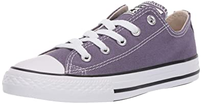 3a3000a50 Converse Girls Kids' Chuck Taylor All Star 2019 Seasonal Low Top Sneaker, Moody  Purple